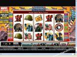 automaty online Captain America CryptoLogic