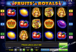 automaty online Fruits and Royals Novoline