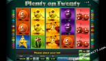 automaty online Plenty on twenty Greentube